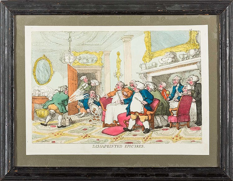 ENGLISH SATIRICAL PRINT