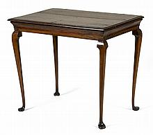 QUEEN ANNE TEA TABLE.