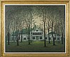 BYRON THOMAS (AMERICAN 1902-1978). THE GASQUE FAMILY HOME, MILLBROOK, NEW YORK., Byron Thomas, $2,500