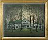 BYRON THOMAS (AMERICAN 1902-1978). THE GASQUE FAMILY HOME, MILLBROOK, NEW YORK., Byron Thomas, $2,500