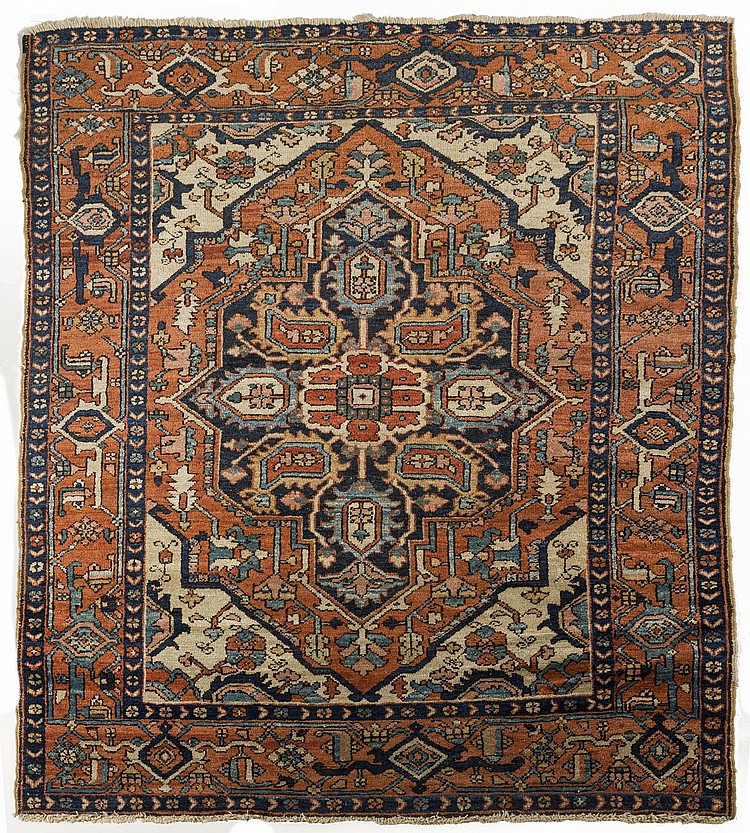 HERIZ RUG, NORTHWEST PERSIA, EARLY TWENTIETH CENTURY.