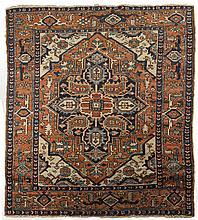HERIZ RUG, NORTHWEST PERSIA, EARLY TWENTIETH CENTURY.