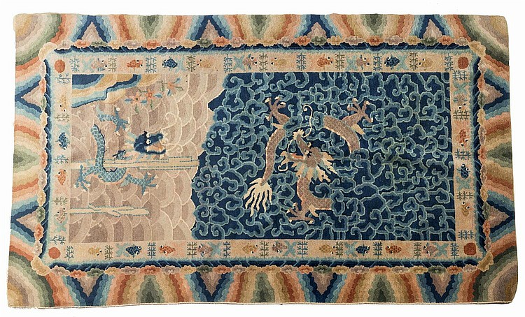 CHINESE PEKING RUG.