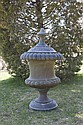 LARGE COPPER ARCHITECTURAL URN-FORM FINIAL.
