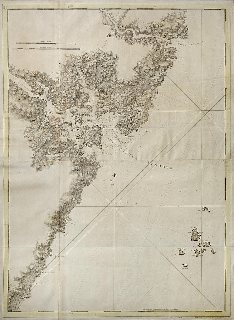 J.F.W. DES BARRES CHART OF PISCATAQUA HARBOR AND PORTSMOUTH WITH THE COASTS OF NEW HAMPSHIRE AND MAINE, FROM