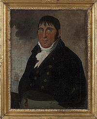PORTRAIT OF A SHIP'S CAPTAIN, CIRCA 1805-10. ATTRIBUTED TO CHARLES DELIN (DUTCH 1756-1818).
