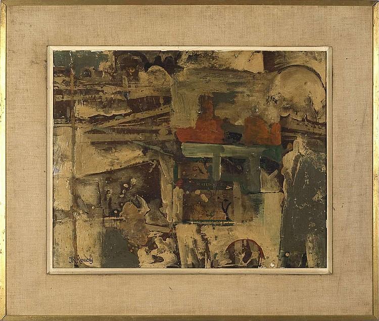 JANET ROBSON KENNEDY (AMERICAN 1902-1974). RAILWAY