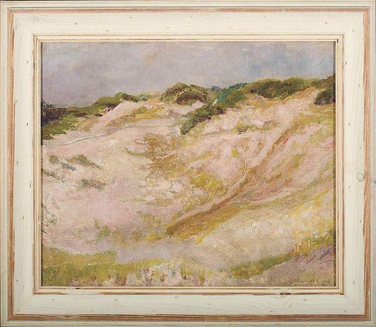 IDA MAYNARD CURTIS (AMERICAN 1860-1959). DUNES.