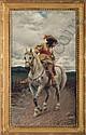 TITO CONTI (ITALIAN 1842-1924). CAVALIER ON, Tito Conti, Click for value