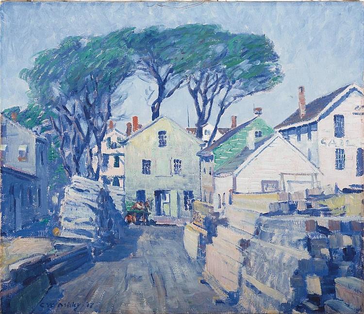 CLIFFORD ASHLEY (AMERICAN 1881-1947). LUMBER