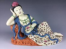 Fine Chinese porcelain famille rose buddha