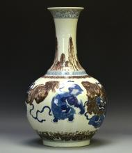 Rare 14th Century Ming Dynasty, Chinese Wucai glazed Charger, decorated with marked