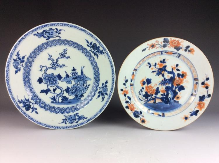Export Chinese porcelain plate, famille rose