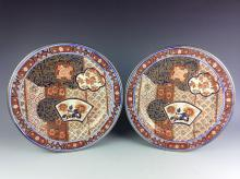 A set of 20C Chinese porcelain plates, famille rose glazed, decorated & marked