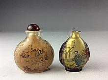 Fine of 2 inner painting snuff bottle