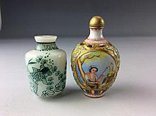 Two Chinese snuff Bottle