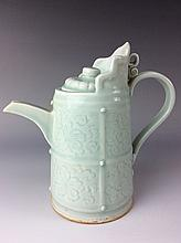 Rare Chinese Song style qingbai glazed porcelain vase