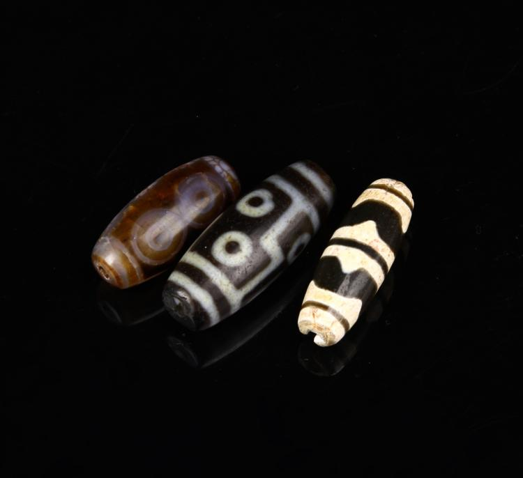 Antique Tibet Z Bead