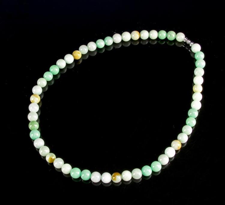 Chinese Jadeite Necklace
