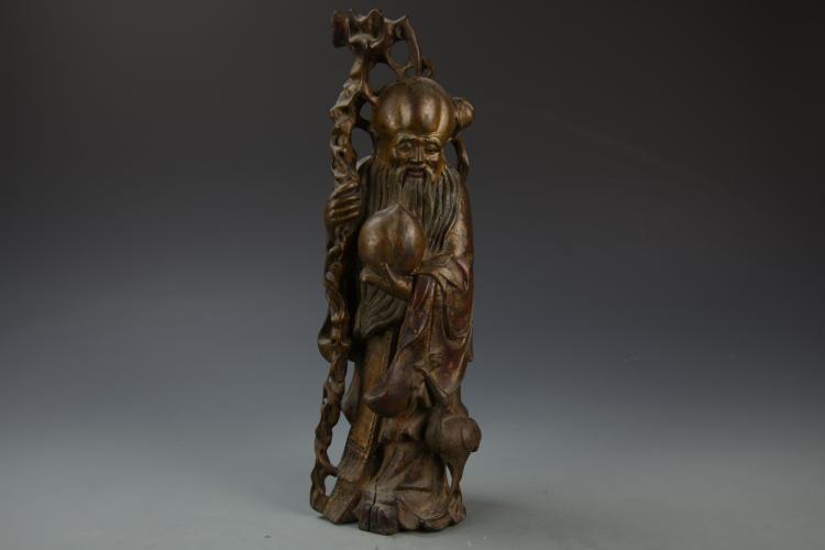 Chinese Wood Shoulao