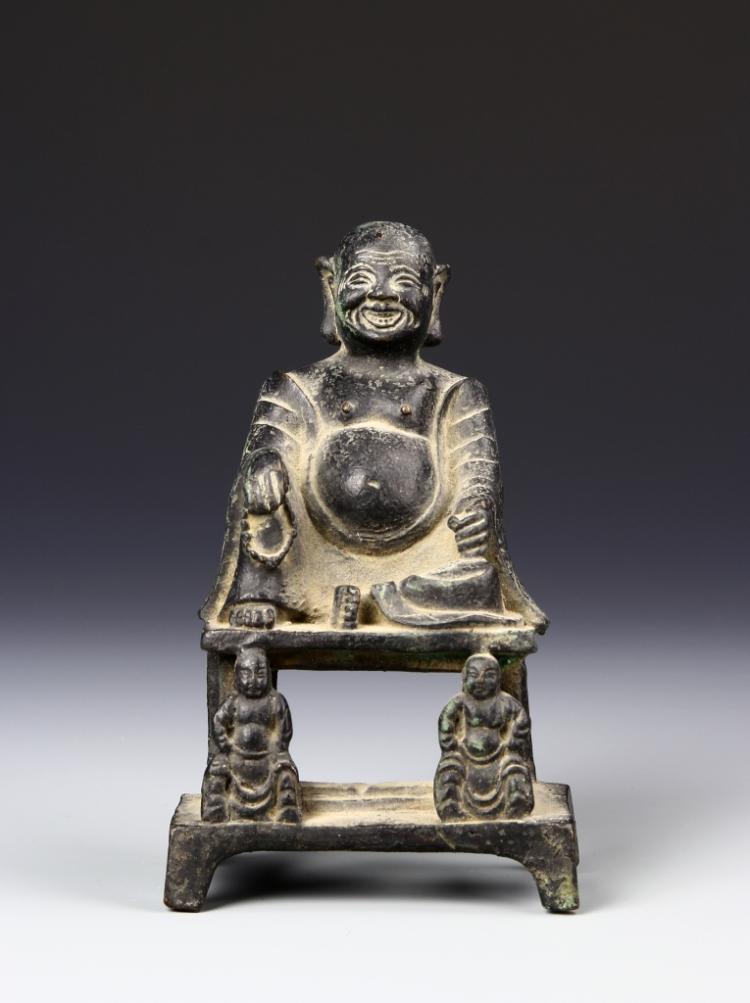 Chinese Bronzed Buddha