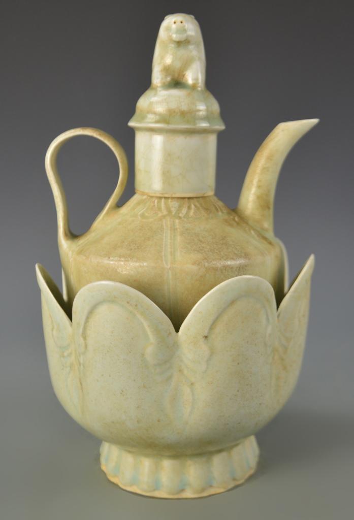 Chinese Ying Qing Wine Pot Set
