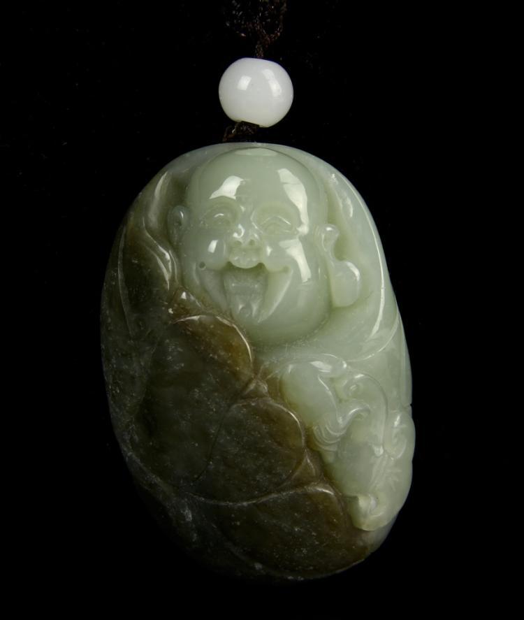 Chinese White Jade Lotus