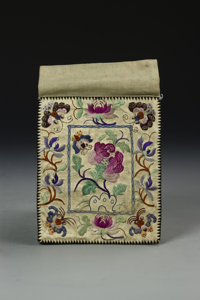 Chinese Silk Embroidery Purse