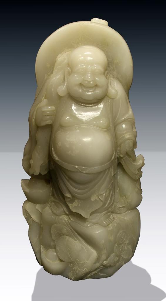 Chinese Jade Buddha Figure