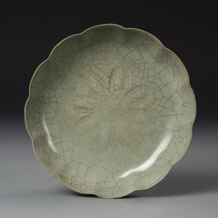 Chinese Yue Yao Plate