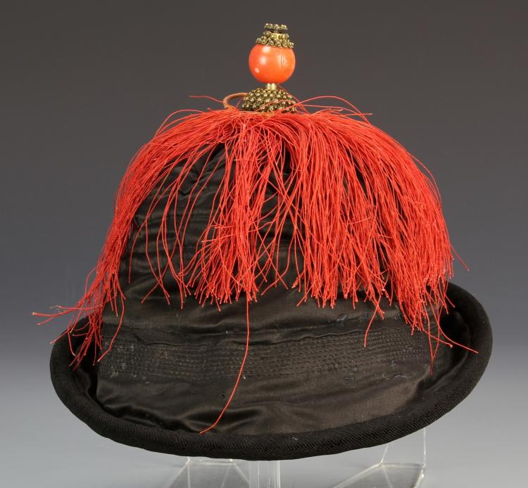 Chinese Qing Dynasty Officer's Hat