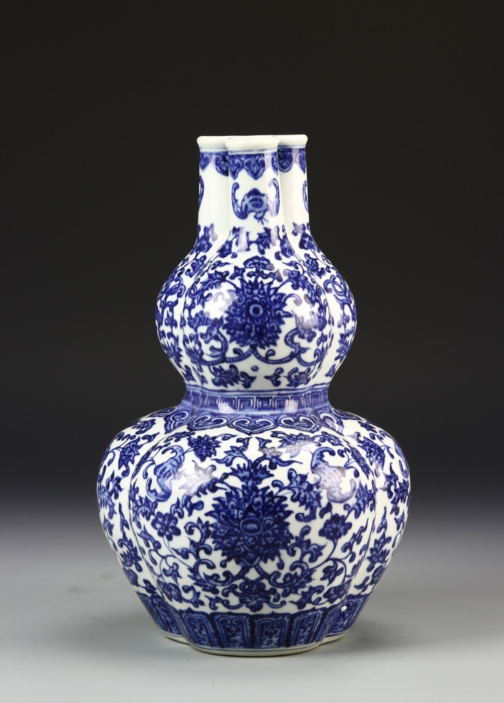 Chinese Three Sprouts Vase