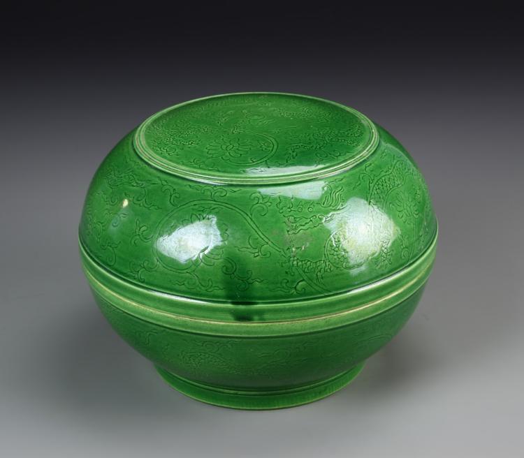 Chinese Round Box