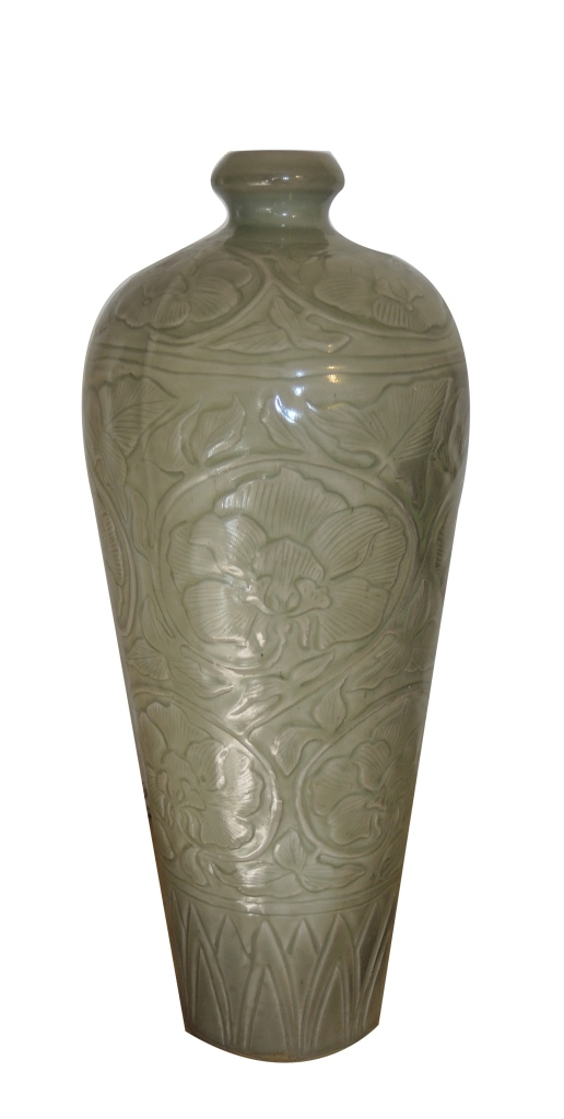 Chinese Antique Yaozhou Yao Meiping Vase