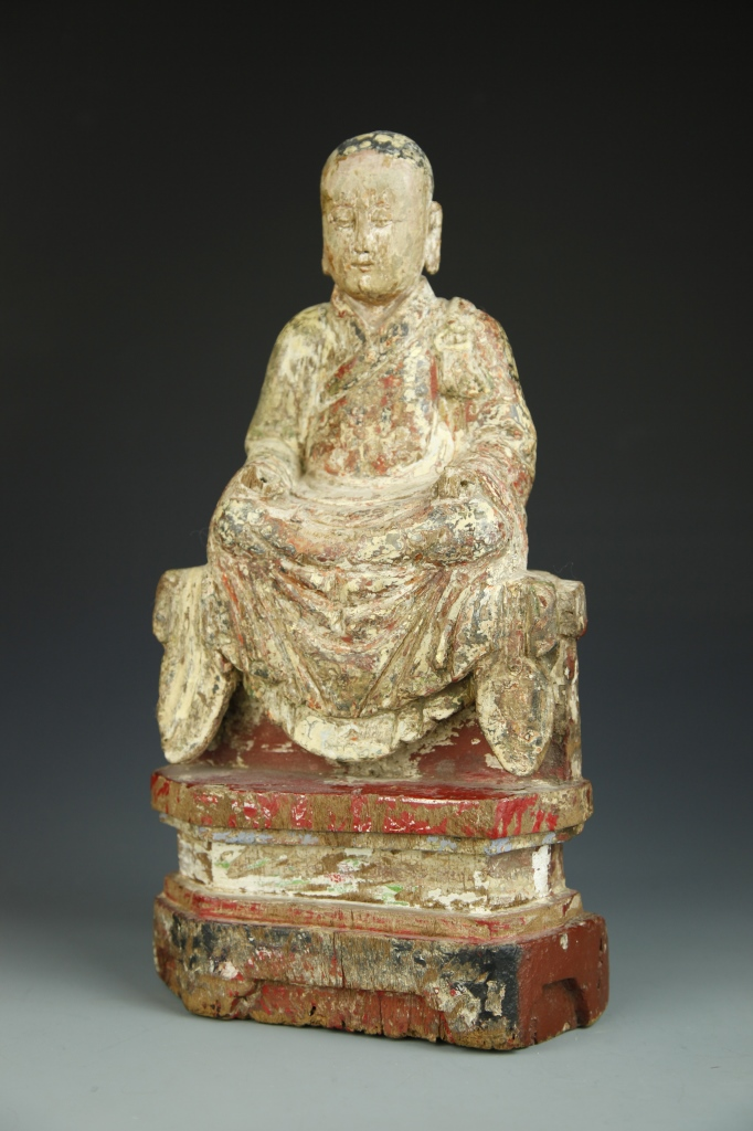 Chinese Carved Buddha