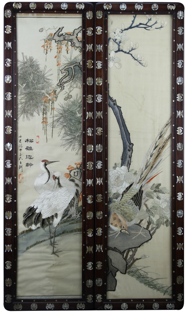 Chinese Silk Embroideries