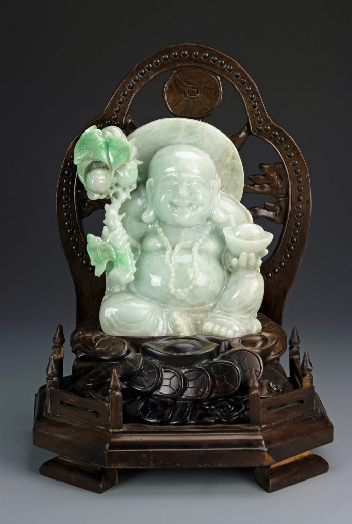 Chinese Jadeite Buddha