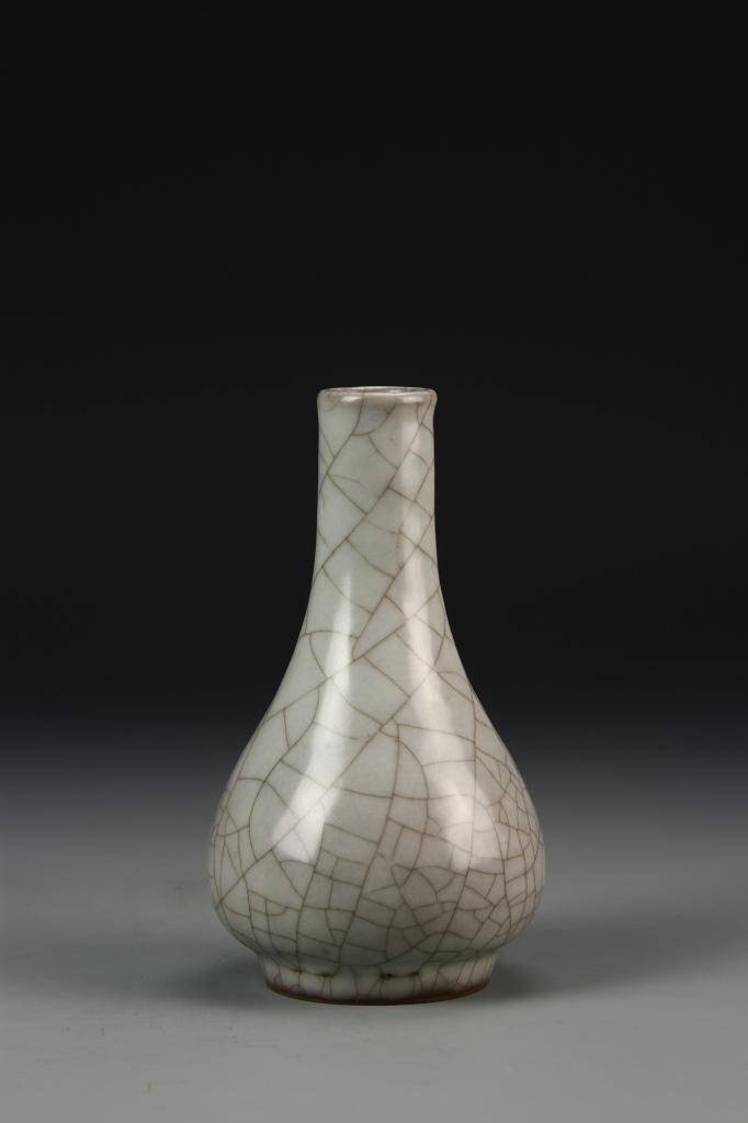 Chinese Song Kwan-Type Pear Vase