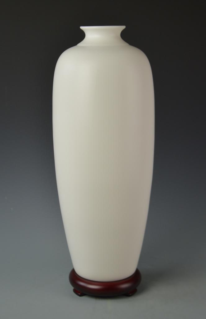 Chinese Blanc de Chine Vase