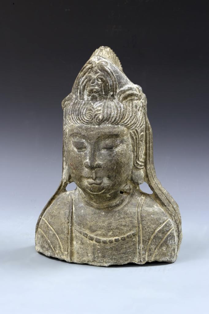 Chinese Stone Head