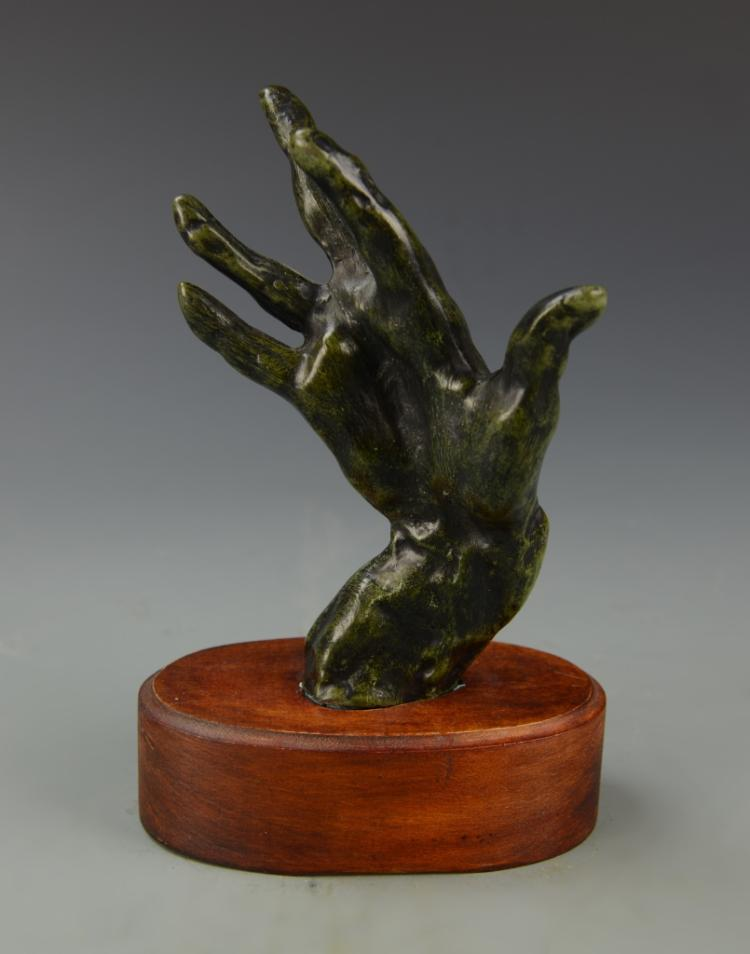 French Bronze Hand