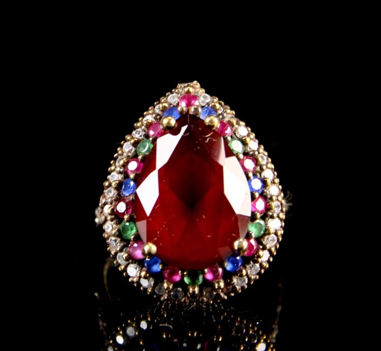 Chinese Ruby Ring