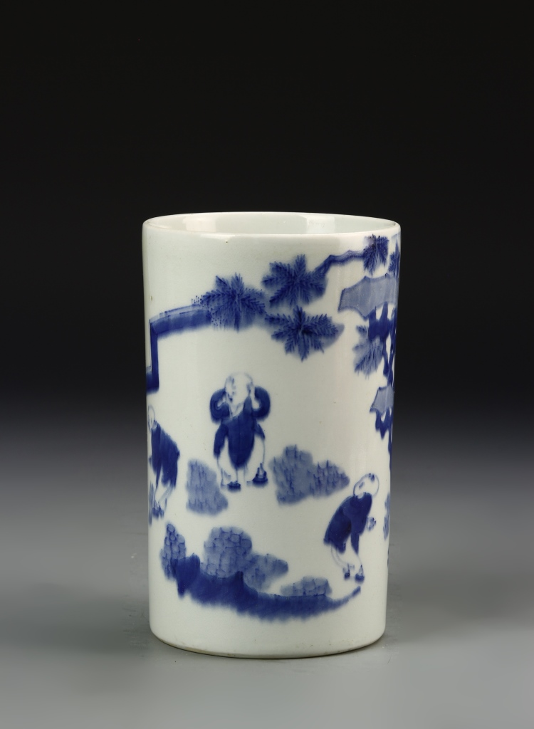 Chinese Cylindrical Vase