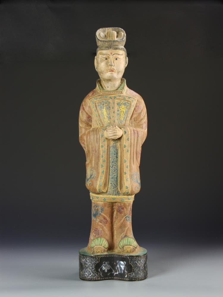 Chinese Brass Figure
