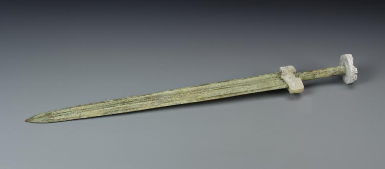 Chinese Bronze Sword