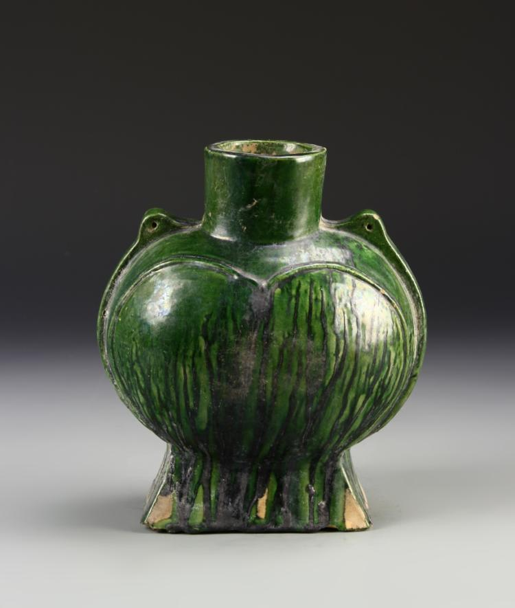 Chinese Green Glazed Vase