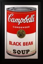 Andy Warhol Soup Poster Print