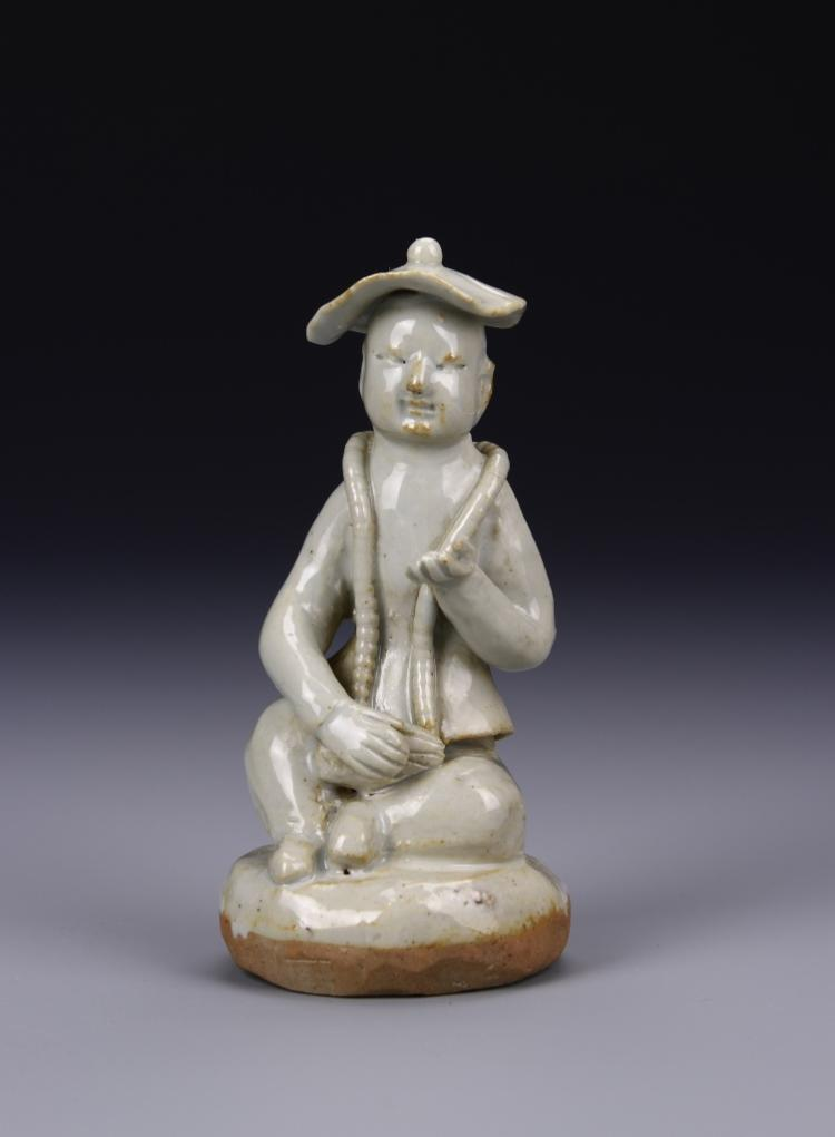 Chinese White Glazed Boy