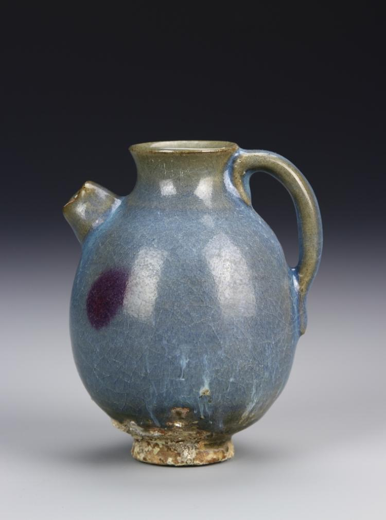 Chinese Jun Yao Wine Pot