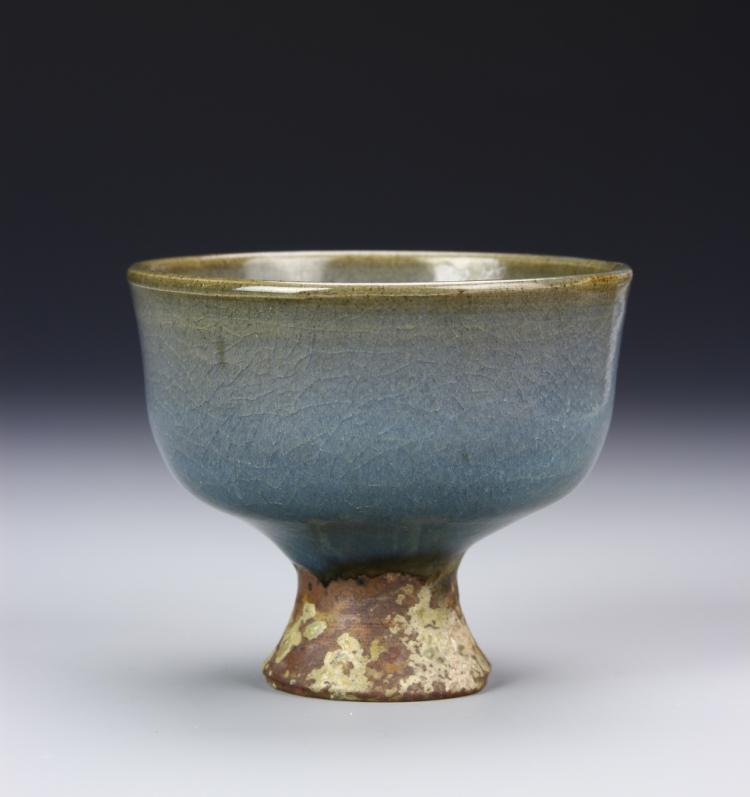 Chinese Junyao High-Stem Bowl